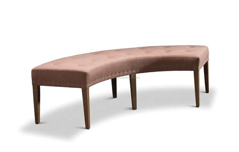 bench for round dining table dining tables half round bench curved bench seating