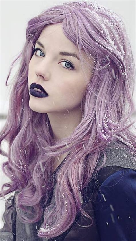 purple hair ninafashionlife purple violet lavender hair purple hair color vpfashion