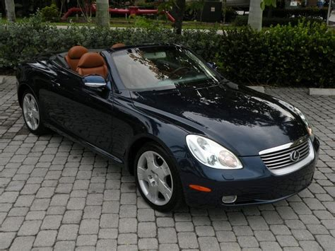 lexus sc430 for sale florida 2004 lexus sc 430 fort myers florida for sale in fort