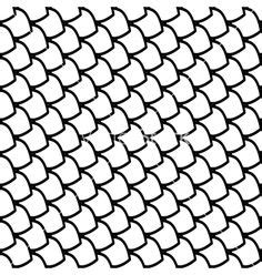 Outline Of A Fish Scale by The World S Catalog Of Ideas