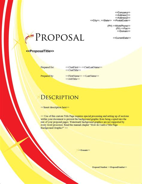 motion design proposal proposal pack in motion 4 software templates sles