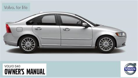 all car manuals free 2011 volvo s80 user handbook 2008 volvo s40