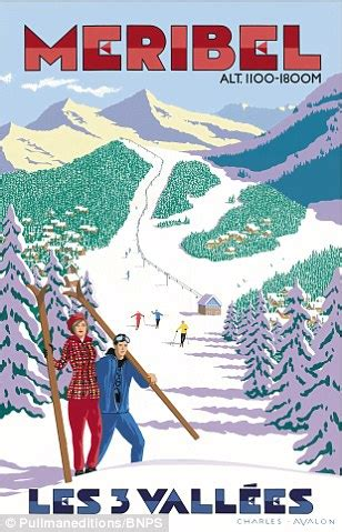 the winter station books retro posters capture halcyon days of europe s top ski