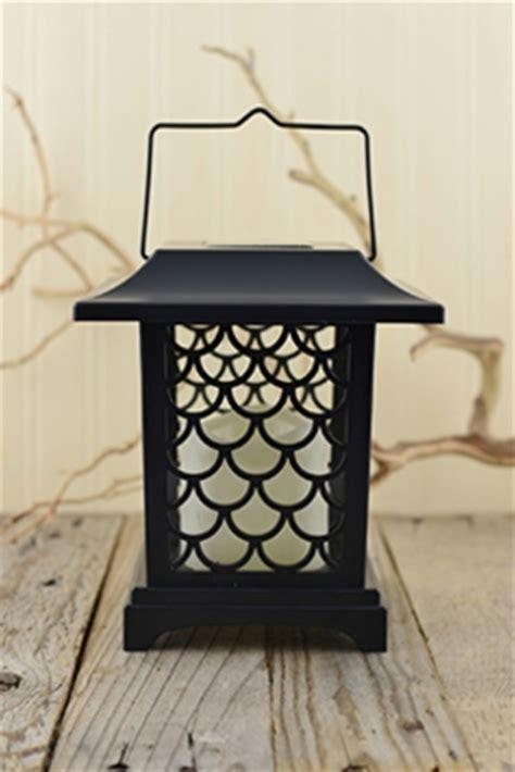 solar lights lanterns solar lantern with 3 flameless candles