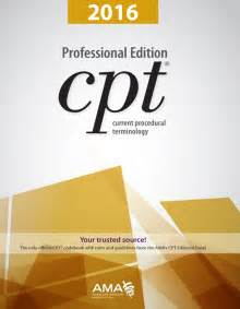 2016 ama cpt 174 professional edition with cpt 174 code changes