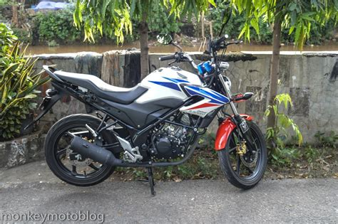 Behel Honda Monkey modifikasi honda cb150 streetfire dengan lu bulat