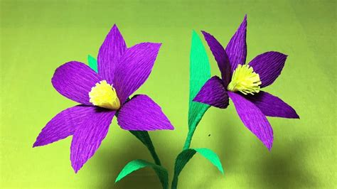 How Can I Make Flowers From Paper - how to make diy crepe paper flowers origami flower
