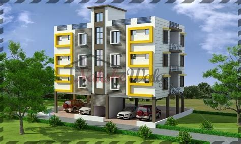 multi story house plans multi storey residential buildings 3d front elevation design