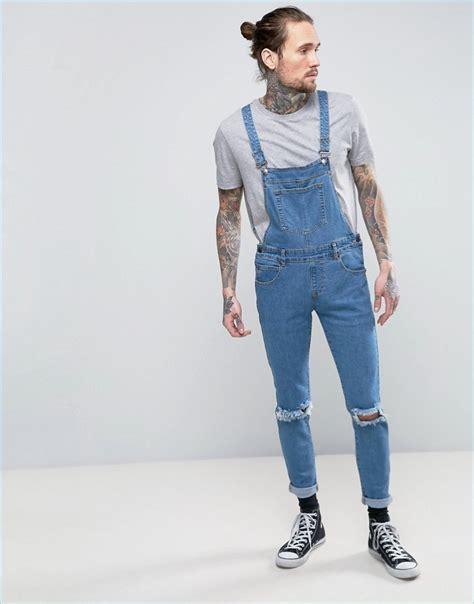light blue overalls mens coachella inspiration 5 trendy overalls