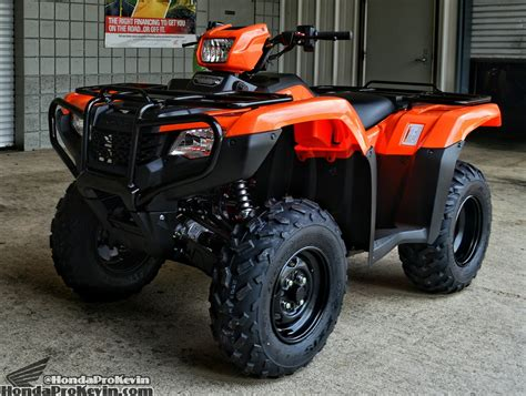 honda new four wheeler 2016 honda foreman vs rubicon atv differences
