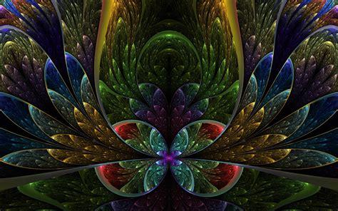wallpaper 3d flower desktop 3d fractal wallpapers wallpaper cave