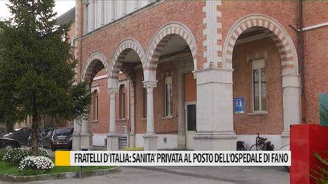 d italia privata o pubblica fratelli d italia sanit 224 privata al posto dell ospedale