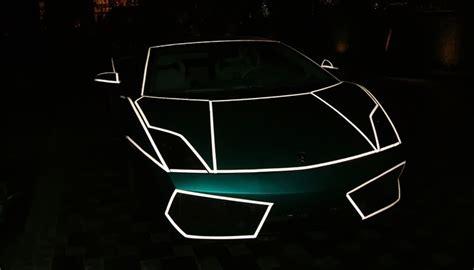 glow in the lamborghini zero 2 turbo