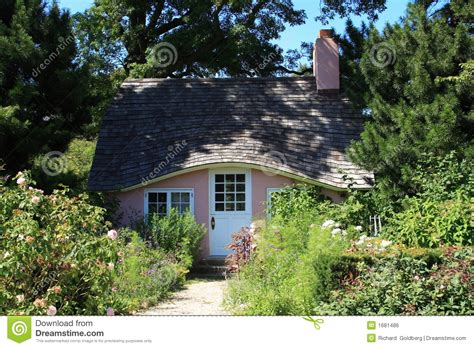 Pink Cottage by Pink Cottage Royalty Free Stock Image Image 1681486