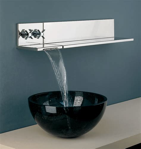 bathroom faucet ideas wall mount faucet with modern shape and design traba homes