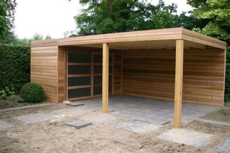 ideeen voor tuinhuis dak tuinhuis met overkapping 5 overkappings ideen