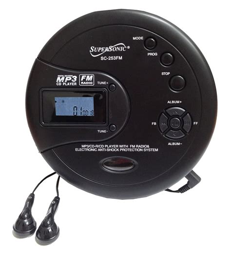 what is a mp3 cd portable cd mp3 players with cassette supersonic inc