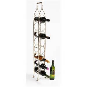 Metal Floor Standing Wine Racks by Monticello Single Row Wine Rack Or Wine Holder Small