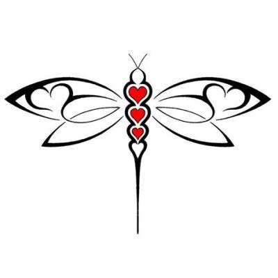 tribal dragonfly tattoo pictures 8 creative tribal dragonfly tattoos only tribal