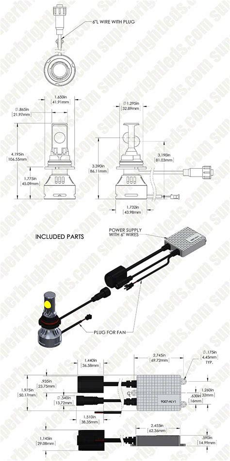 9007 headlight wiring diagram 29 wiring diagram images