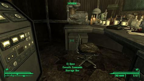 fallout 3 console codes pip boy console codes at fallout3 nexus mods and community