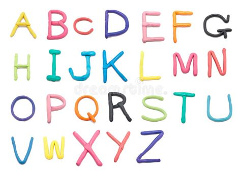 font text pattern clay font a to z stock photo image of text pattern