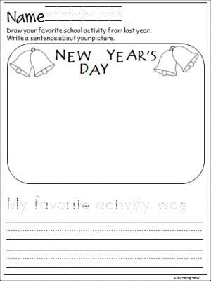 during new year essay free writing activity for the new year great for