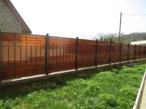 cloture amovible jardin 95 id 233 es pour la cl 244 ture de jardin palissade mur et brise vue