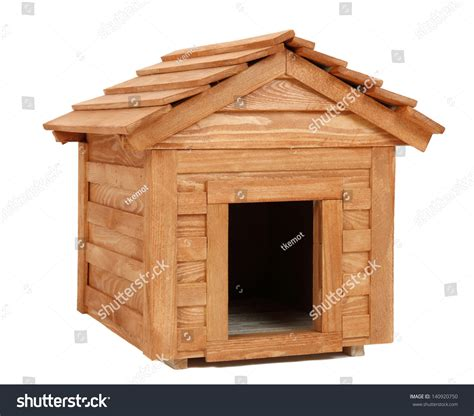 smalldog with wooden dog s house stock image image 30902231 small wooden dogs house stock photo 140920750 shutterstock