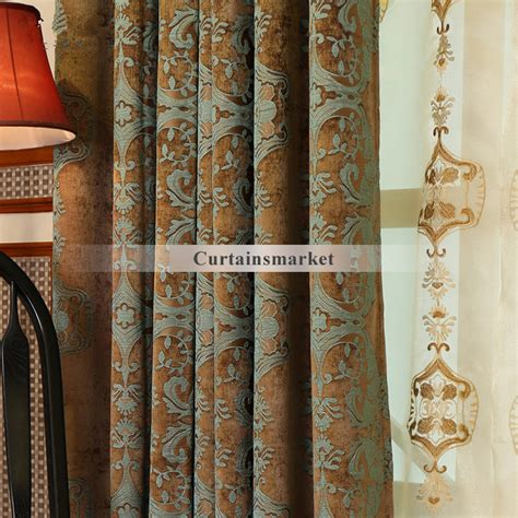 Country Style Window Curtains Country Style Window Curtains In Chenille Fabric For Quality