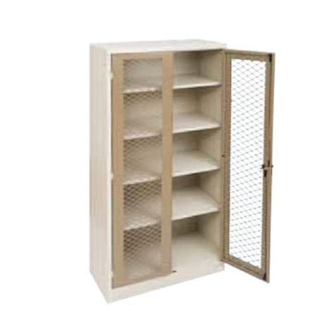 Cabinet Door Mesh 6 X 3 Stationery Cupboard With Mesh Doors Arran Access