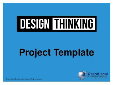 Design Thinking Stanford Ppt Stanford Ppt Template