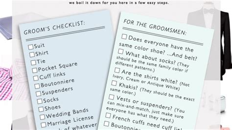 Wedding Checklist For And Groom by Wedding Planner Wedding Checklist Groom S Parents