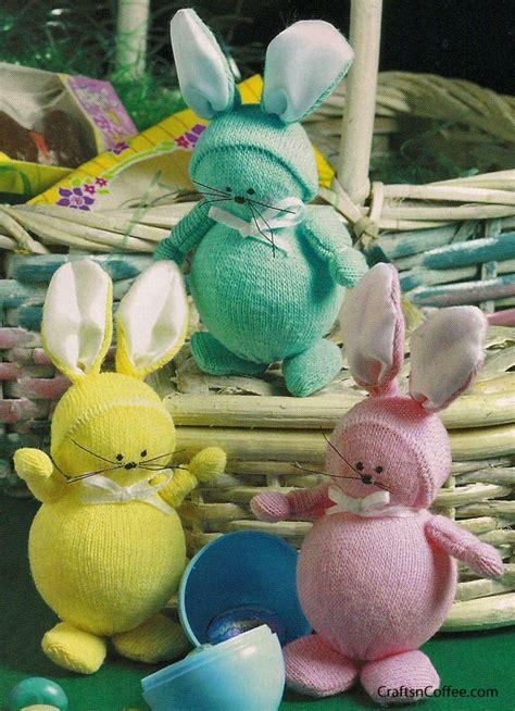 sock bunnies family crafts