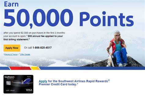 Southwest 50 000 Business Card