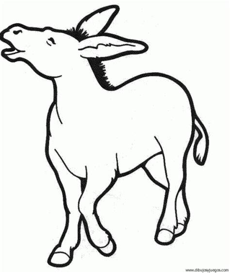 imagenes para colorear burro dibujo de burro 13 dibujos y juegos para pintar y colorear