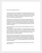 thank you letter 231 free sle exle format