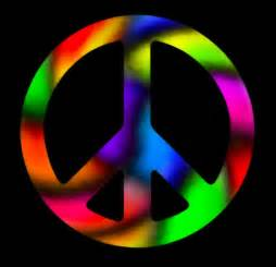 color of peace colorful peace sign color me