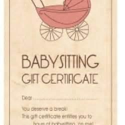 Certification Letter For Babysitter 400 x 400 jpeg 21kb free babysitting gift certificate printable