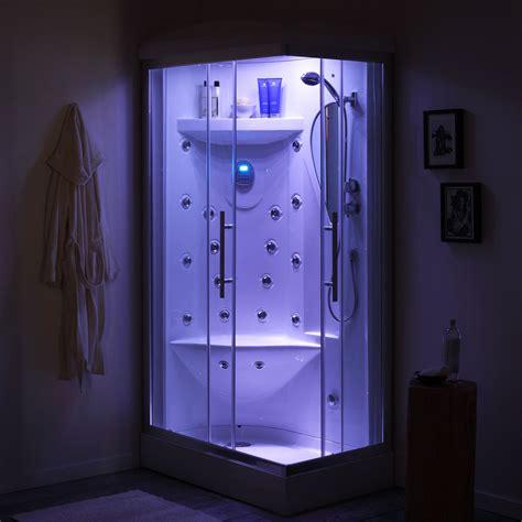 cabine idromassaggio offerte cabina doccia idromassaggio 70x110 iride sinistra ebay