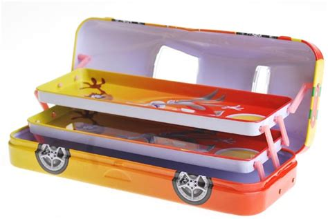 Tempat Pensil Kotak Pensil Alat Tulis Sekolah Anak Karakter Tempat Pensil Pulpen Tingkat Mobil Toko Grosir Alat