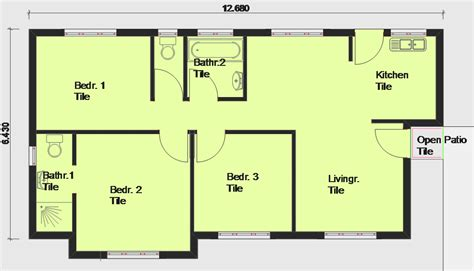 bedroom house plans with open floor plan free lrg home single story open floor plans free house floor plans south