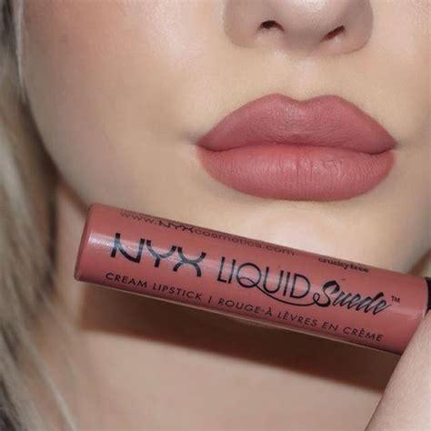Lipstik Nyx Liquid Suede nyx cosmetics quot soft spoken quot liquid suede lipstick