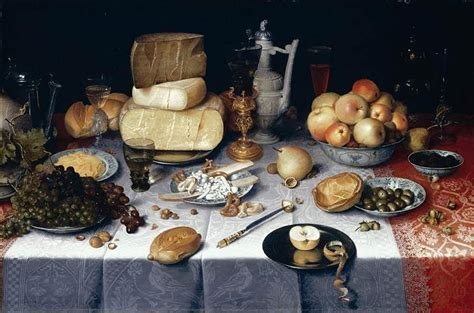 17th century cuisine wine related paintings of the 17th century