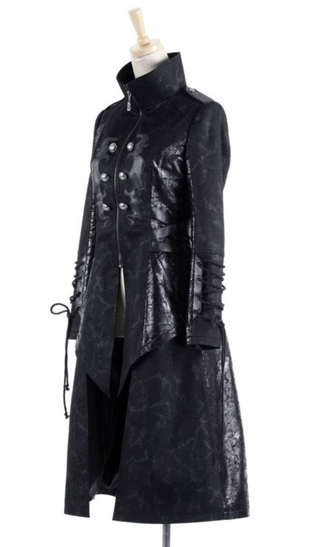 design jacket anime gothic anime cyberpunk and trench coats on pinterest