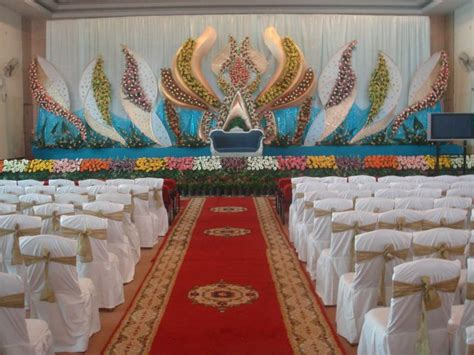 Bangalore Wedding Stage Decoration by Bangalore Stage Decoration Design 367 Weddingokay