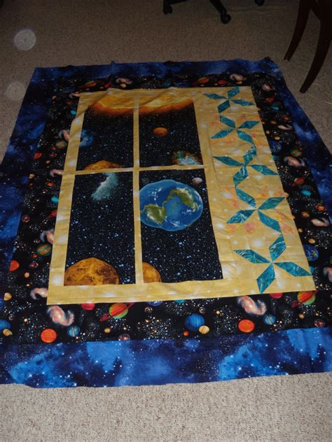 Outer Space Quilt by Outer Space Quilt With Us