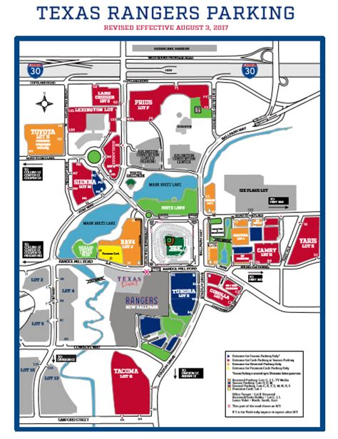 rangers parking lot map rangers re routing traffic to take step in building