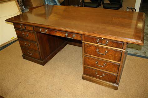 kimball president executive desk kimball president traditional walnut office oversize desk