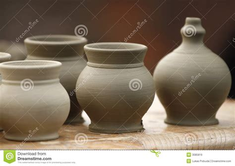 Time Pottery Vases by Small Pottery Vases Stock Image Image Of Crockery Craft